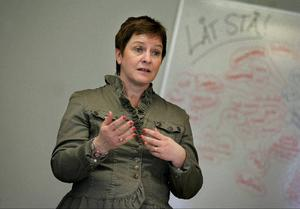 I dag inviger Annelie Luthman en ny förskola i Sundsvall.
