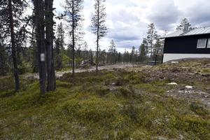Sälen 160613 Tomten  i Tandådalen, Sälen, beskrivs som undermålig av Håkan Borg, som just nu investerar stort i området.