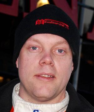 Tobias Söderqvist har allt som oftast hårda kamper i Trimmat 2wd med...