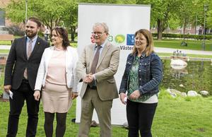 Den politiska majoriteten i Västerås har presenterat budgeten för 2018.