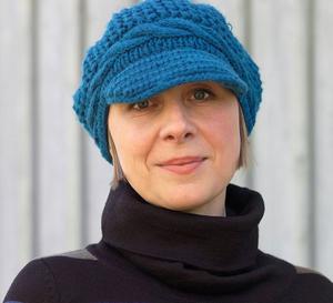 Lena Sjöberg, barnboksförfattare med rötter i Sandviken.