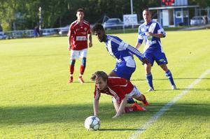 Ridwan Abduselam Beyan hade koll bakåt, och gjorde Forsa första mål framåt.