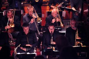 SJO består till stor del av framstående jazzsolister.
