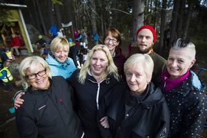 Kristina Stoltz, Eva Sörlin Berggren, Anna Lövasgård, Anna-Karin Engelbrekts, Yvonne Berndt, Tony Hansson och Helen Holmstrand.