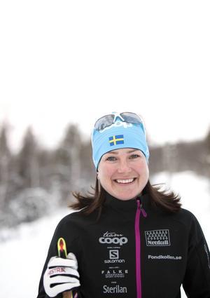 Jenny Grip går nu från tävlande till vd för Årefjällsloppet.