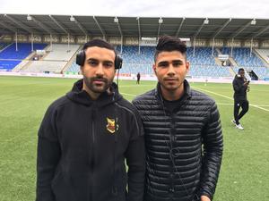 Saman Ghoddos och Hosam Aiesh är med i truppen mot Norrköping där Ghoddos börjar på topp och Aiesh på bänken.