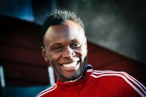 En taggad Samuel Mensah går in i serieslutspurten med stärkt självförtroende och stor glädje.