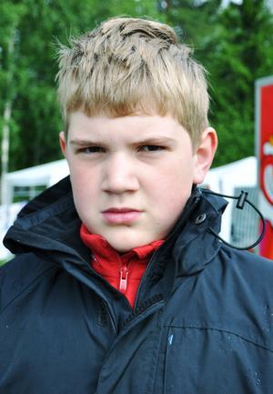 Andreas Andersson, 12 år, Sofiedalskolan, klass 6A– Jag vet inte, vara med kompisar kanske.