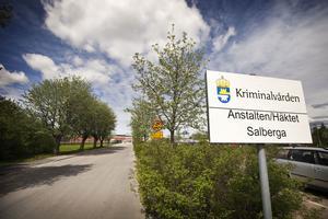 Anstalten och häktet Salberga i Sala.