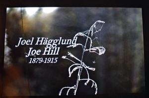Bildspel om Joe Hills liv.
