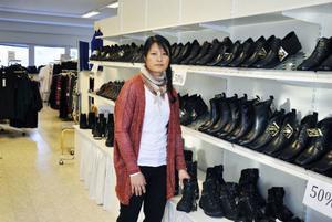 Efter sju år väljer Beth Persson att sälja sin Sko- och klädbutik