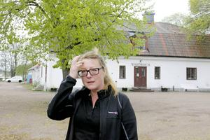 Amelie Jakobsson är nyanställd platschef vid asylboendet i Gysinge.