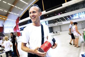 fyndade. En glad fyndare var Rasmus Hemph från Sandviken. Nöjdast var han över mattermosen som han hittade för 35 kronor.