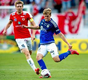 Joakim Nilsson spelade från start i senaste kvalmatchen. Nu väntar Spanien.