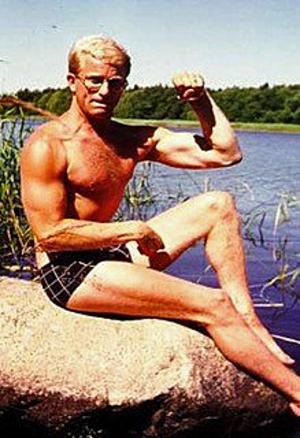 Så här såg Håkan Karlberg ut en gång i tiden.