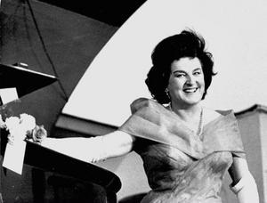 Birgit Nilssons var en av världens absolut mest framgångsrika sopraner. Här på en bild från 1964. Foto: Gunnar Westerlind/Scanpix