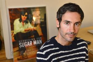 """Malik Bendjellouls Oscarsnominerade """"Searching For Sugar Man"""" har prisats världen runt. Återstår att se om den kan vinna även på hemmaplan.           Foto: Anders Wiklund/Scanpix"""