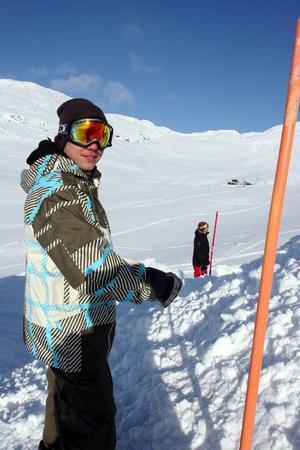Rickard Liv är en av många som hjälper till med förberedelserna inför de stora Åre-eventen som har Jon Olsson som centralfigur.