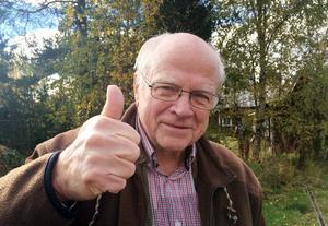 Helge Jonsson, från Långå vann den nordiska matkampen i Halv åtta hos mig i TV4.