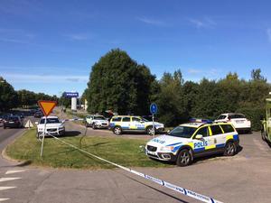 Ett grovt våldsbrott har begåtts i Sundsvall.