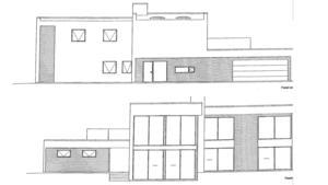 Så här kommer det nya huset i Ripsandsviken att se ut.