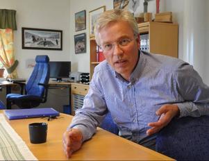 – Vi kanske bara har något år kvar att leva, säger stolpfabrikens vd Leif Berglund.