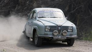 Midnattssolsrallyt, Ragnar Glav, Vallentuna MK, Saab Monte Carlo 850.
