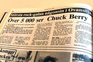 Den största rock-galan någonsin i Ovansiljan väntade.