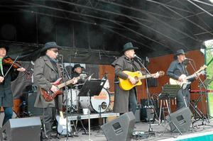 The Wild Horse Silver Dollar Saloon Band.