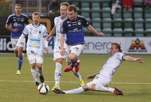 Rúnar Sigurjónsson i aktion.