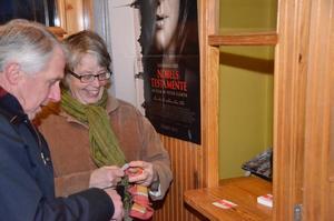 Filmsugna. Bengt och Kerstin Svärd löste biljetter och hade stora förväntningar på filmen.