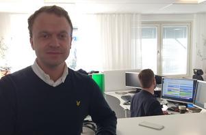 Erik Sjölander, deskchef.