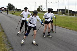 Juniorlandslaget genomförde ett veckolångt träningsläger på Hallstaberget i Sollefteå.