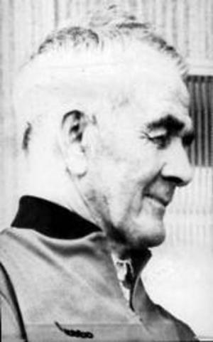 Två av Kälarnebygdens stoltheter, bragdguldvinnarna Henry Kälarne och Gunder Hägg. Den tredje var Alfred Dahlqvist.