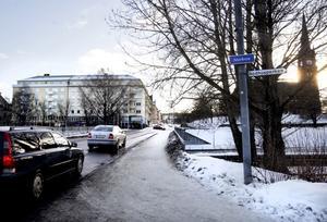 Storbron, en av Sundsvalls två äldsta broar, i dagens utförande.