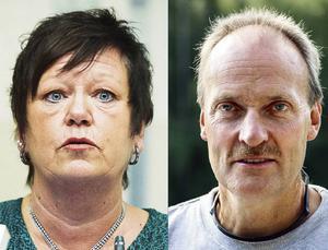 Birgith Olsson Johansson (S) och Göran Wåhlstedth (V).