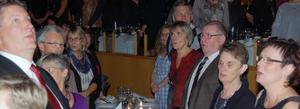 I en hyllning till Mora lasarett sjöng alla med.