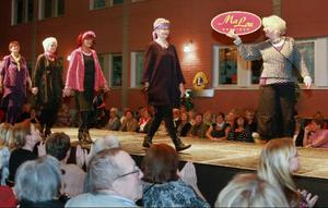 Det är alltid utsålda hus När Lions Club Östersund Brunkullan arrangerar modevisning.