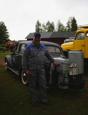 Billigare och bättre för miljön. Ivar Larsson ser mycket positivt med gengas, även om han medger att det inte direkt är ett alternativ till bensin idag. Foto:Lisa Olin