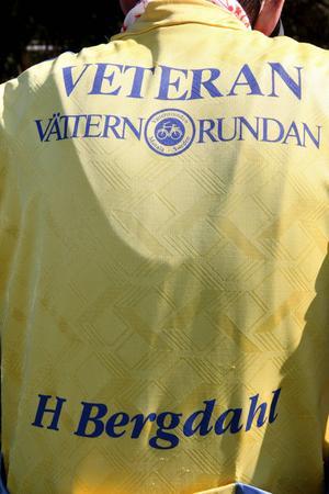 När man gjort sin 25 runda får man hederstiteln veteran – och personlig tröja!