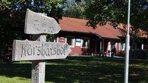 I huset Körsbärsbol bodde deltagarna på kommunens äldrekollo 2013.