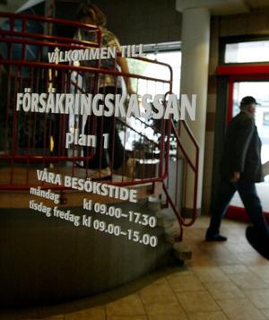 Snart ett minne blott? När Försäkringskassan tvingas spara hotas service- och lokalkontoren av nedläggning.foto: sanna Sjösvärd/VLT:s arikv