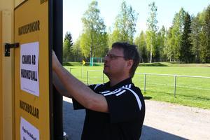 Janne Damberg har stenkoll på allt på Brovallen.