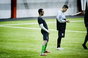 David Johansson och Gabriel Somi är två av spelarna som Brage testar under den här veckan.