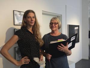 Utställningskommissarie Hilda Lindström och Maj Edström i Dalarnas Konstförening presenterar en höstsalong med både bredd och fokus.
