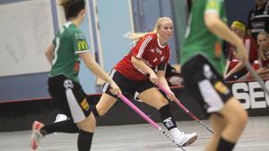 Per-Ols, här lagkaptenen Frida Mattsson, förlorade mot tippade topplaget Lillån som vann med klara 4–1.