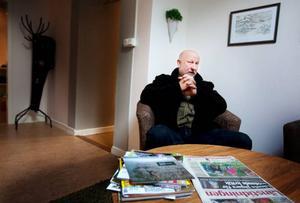 """""""Jägarkåren sköter sig och är mycket omdömesgilla"""", säger jägarförbundets ordförande i Mittnorrland, Sven-Gunnar                Sivertsson. Samtidigt anser han att åtta påskjutningar på björn inte är försvarbart.  Foto: håkan luthman"""