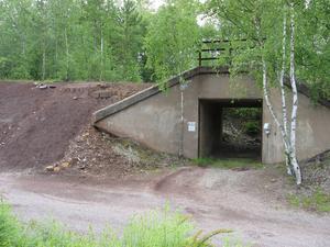 Simplontunneln ut mot Hanröleden vid Skålpussen.