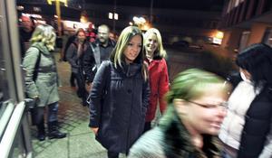 Färre än väntat ställde upp på manifestationen i Bollnäs stadshus på måndagskvällen.