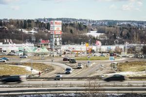 Mars 2016. Östra Birsta växer så att det knakar och har förändrat landskapsbilden radikalt.